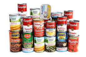CANNED GOODS BLESSING INTERNATIONAL FOODS